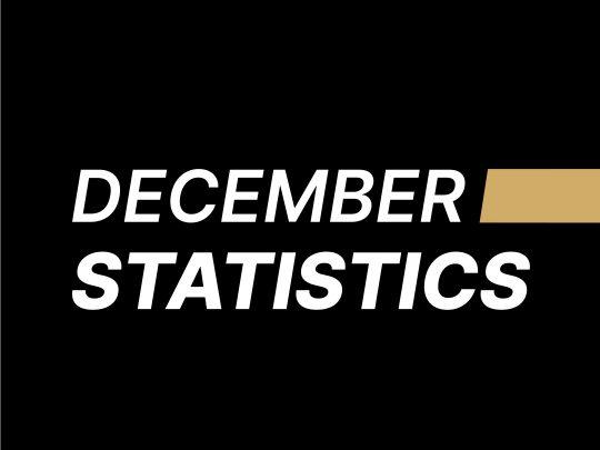 December Statistics